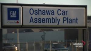 Ottawa and Ontario look to tackle GM plant closure together