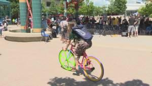 City looking into making bike helmets mandatory for everyone