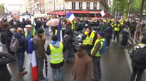 'Yellow Vest' rally sees small turnout after May Day protest