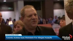 Toronto woman says Harvey Weinstein assaulted her