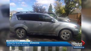 Police looking for stolen vehicle after carjacking at gunpoint near Red Deer