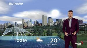 Edmonton early morning weather forecast: Wednesday, May 22, 2019