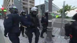 G7 Protests wind down in Quebec