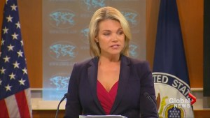 """U.S. State Dept """"pleased"""" by release of U.S. student by North Korea"""