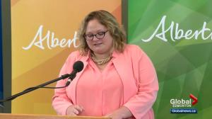 Alberta's deputy premier Sarah Hoffman facing lawsuit