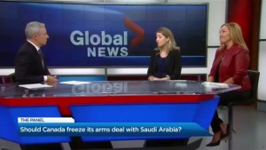 Does Canada need to freeze its arms deal with Saudi Arabia?