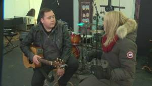 William Prince gives viewers a sneak preview of the music at Festival du Voyageur