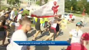 Terry Fox continues to inspire Montrealers