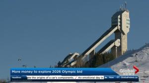 Calgary city council approves another $2 million for 2026 Olympic bid