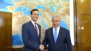 Trump's son-in-law Kushner meets Netanyahu in Jerusalem
