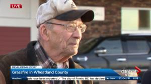 Gerald describes losing his house to Wheatland County fire