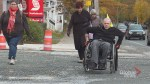 Halifax advocate wheels down Robie Street to highlight accessibility issues