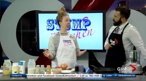Stump Kitchen making breakfast sandwiches on Global Edmonton (1/3)
