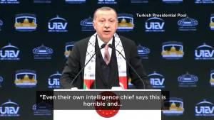 Turkish president says 'many more things will emerge'  in Khashoggi killing (01:03)