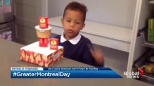 #GreaterMontrealDay, #JournéeMTLensemble: Good deeds for Quebec floods