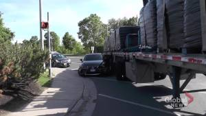 Collision closes section of The Parkway in Peterborough
