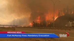 Wildfire erupts close to downtown Fort McMurray as city calls for mandatory evacuations