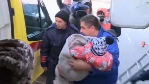 Three-year-old girl the only survivor of deadly plane crash in Russia