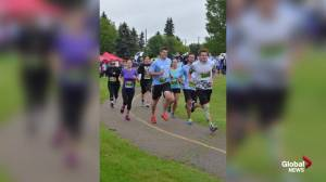Sherwood Park Run for H2O supporting clean water project in Ethiopia