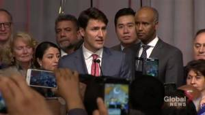 'Islamophobia is real': Trudeau comments on Edson mosque fire and anniversary of Quebec shooting