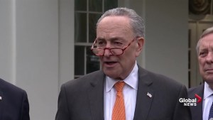 Schumer says Trump 'walked out' of border security meeting