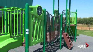 New Calgary playground named for murdered Calgary boy aims to help high risk kids