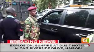 Kenyan police confirm 'attack incident' underway in Nairobi