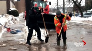 Ugly mix of rain, snow, freezing rain closes schools in parts of Atlantic Canada