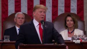 State of the Union: Trump refers to Mueller's probe and says 'there cannot be war and investigation'