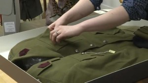 106-year-old WW2 veteran reunited with uniform weeks before death