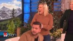Couple who lost their engagement ring down a sewer grate reunited with it on 'Ellen'