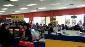 One of the last Blockbuster Videos in North America closing up shop