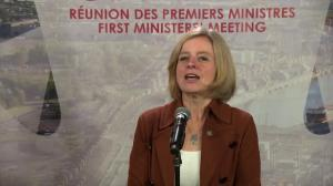 Notley says they had 'fulsome' conversation on oilpatch crisis, more focus by federal government needed
