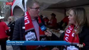 Grey Cup festival kickoff: Geordie Macleod