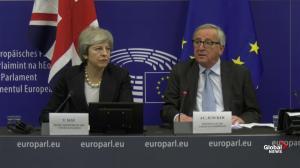 Theresa May, EU agree on new rules around Irish backstop