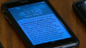 Emergency alert texts tested in most of Canada