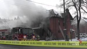 Fire rips through Water St. apartment in Peterborough