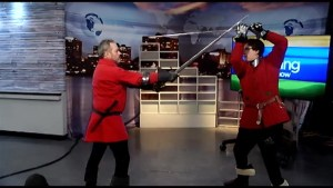 Ironwood Sword School shows us the skills of 14th century martial arts
