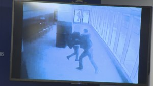 Surveillance images show daytime attack at Portage Place bus shelter