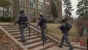 Toronto police lockdown High Park high schools as person spotted with gun