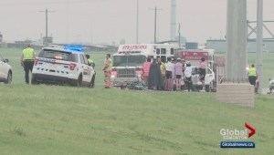 Five cyclists struck on Sherwood Park Freeway Saturday