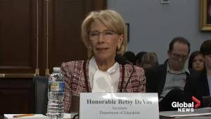 Betsy DeVos in hot seat for proposing funding cuts to Special Olympics