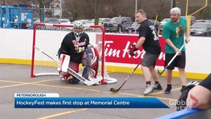 HockeyFest makes its first stop in Peterborough