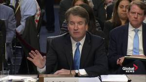 Brett Kavanaugh grilled on his stance on weapons and school shootings