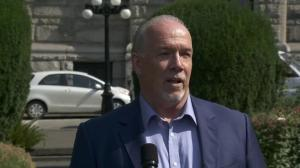 B.C. Premier John Horgan on record 130 drug overdoses in one day