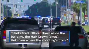 Police dispatch calls reveal frantic moments following shooting in Baton Rouge