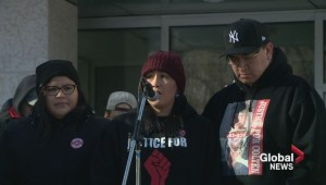 'Justice for Colten' rally draws hundreds in Saskatoon