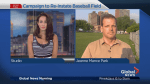 Campaign to re-instate baseball field