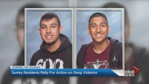 Surrey residents rally against gang violence