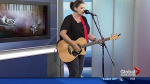 Gina Horswood performs 'Bad Fruit'